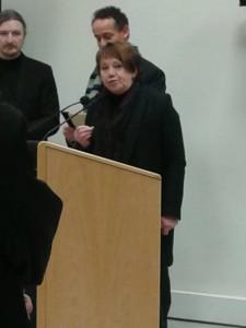 Madame Michèle FUSELIER, présidente de la Communauté de Communes de Château-Thierry