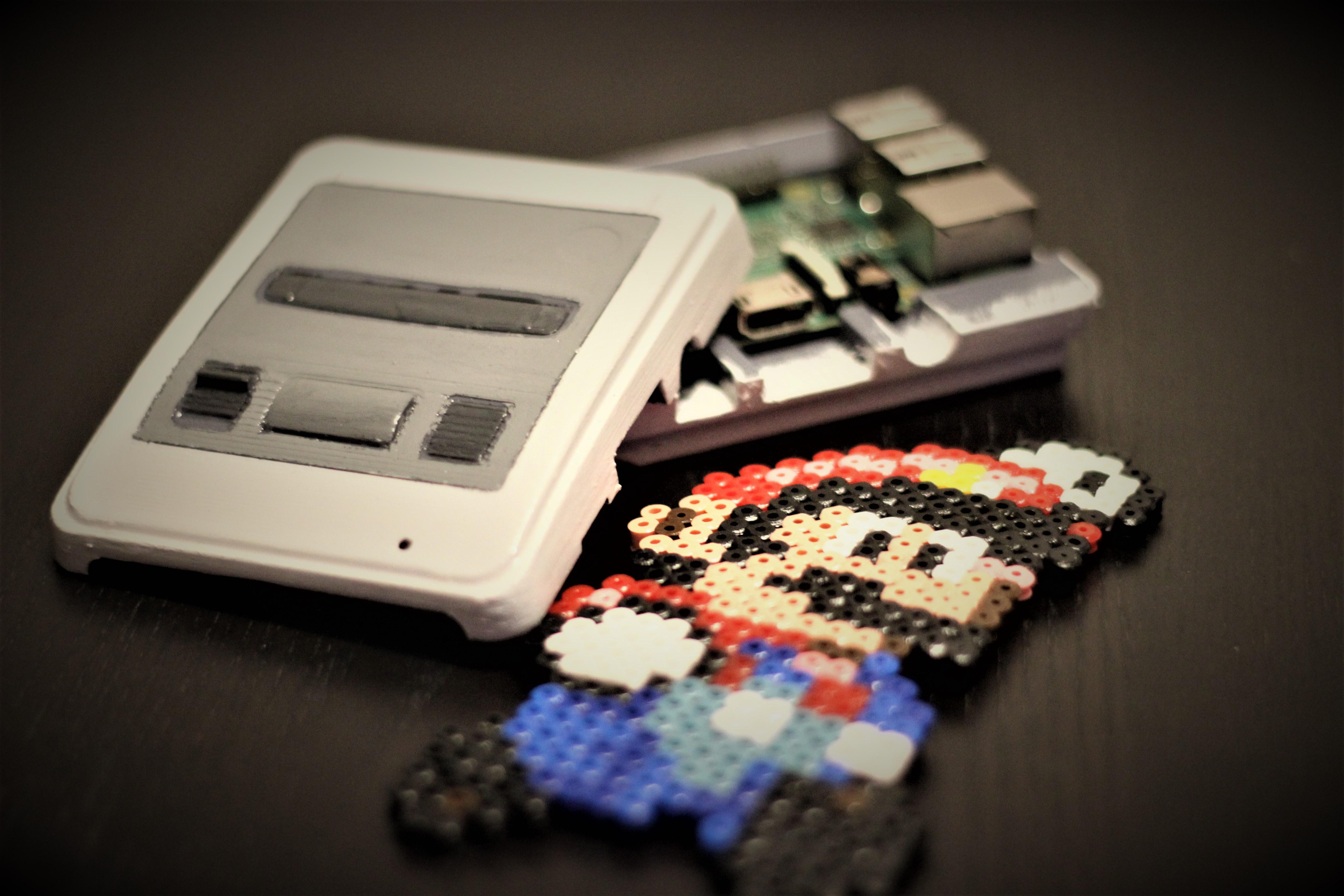 Mini console de jeux avec un raspberry pi fablab ch teau thierry - Fabriquer une console de jeux ...