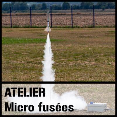 Atelier micro fusées